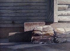 Douglas Wiltraut, Old News, 2013, Egg Tempera, 30 X 42 inches