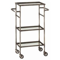 great small scale bar cart for apartment or small house
