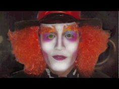 The Mad hatter (Alice in wonderland)  makeup tutorial