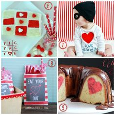 Cool cakes and more cuteness! Check out these nine great Valentine's ideas!