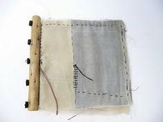 Noela Mills waxed kimono silk book