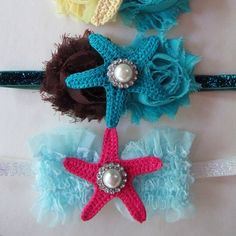 Love these under the sea headbands