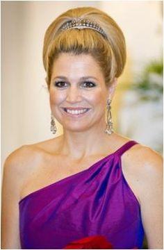 The Royal Order of Sartorial Splendor: Máxima's Tiaras-worn by Princess Maxima 15. Queen Wilhelmina's Diamond Haircomb
