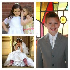 Some of the entries from our 2014 First Communion Photo Contest.