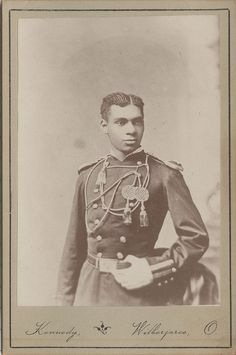 Born into slavery in Thomasville, Georgia, on March 21, 1856, Henry Ossian Flipper was appointed to the U.S. Military Academy at West Point, New York, in 1873. Over the next four years he overcame harassment, isolation, and insults to become West Point's first African American graduate and the first African American commissioned officer in the regular U.S. Army. histori, african americans, militari academi, west point, american graduat, africanamerican, flipper, black, military