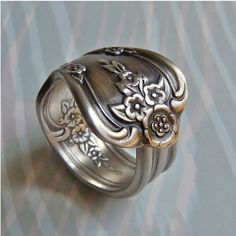 I just love antique rings! Especially of the spoon variety