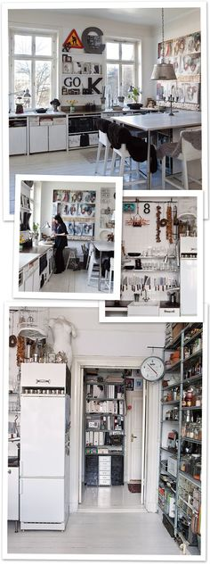 eclectic Stockholm kitchen