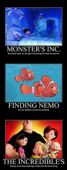 what disney/pixar has taught me <3 #disney #pixar