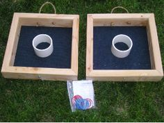 Square Washer Toss Game Cadette Woodworking #3 & #4- Use a screwdriver and Saw some wood