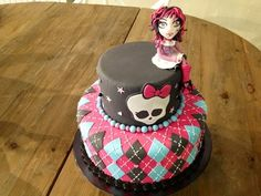 butter, birthday idea, monsters, amari birthday, monster high cakes