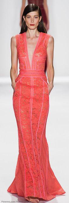 J. Mendel   S/S 2014 #Designer #Dresses