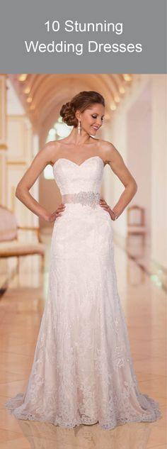 10 Stunning Wedding Dresses www.kardella.com