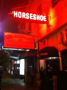 Horseshoe Tavern in San Francisco, CA: Great place to play pool (they have two tables), catch up with friends, or just have a drink solo. Lots of high quality flat screen TV's as well. Find more places to watch the World Cup in the USA: http://pin.it/AeGWA1a