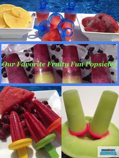 Beat the Heat With a Healthy Treat: Our Favorite Fruity Popsicles #Recipe from @IronKids Vitamins Vitamins