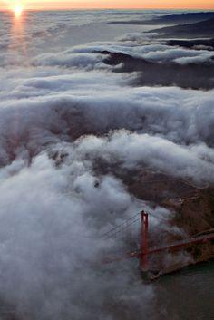 amazing photo of the golden gate bridge