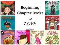 Beginning chapter books kids will love! #reading