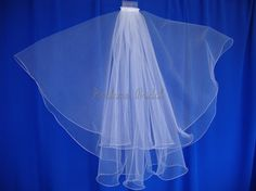beautiful white wedding Veil #weddings #brides