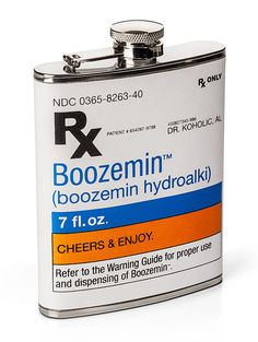 Groomsmen Gift #1---- Doctor's Prescription Flask