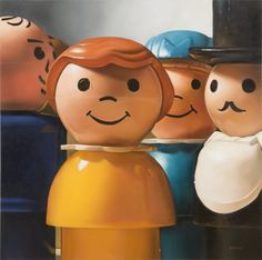 I love vintage little people.