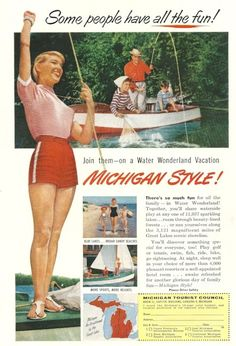 Michigan Travel Ad