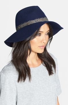 Floppy Felt Fedora and other Women's Hats for Fall