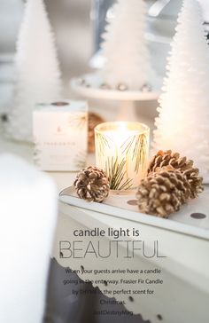 High End Candle, my