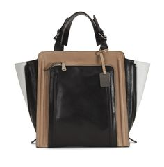 Madison Leather Structured Tote - Kenneth Cole