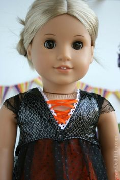Sew a doll vest - free pattern and tutorial