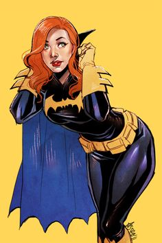 Barbara Gordon - Bat Girl