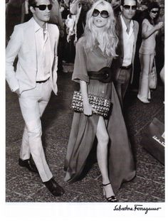 Claudia Schiffer for S. Ferragamo - 2008  She can never go wrong via Timeless Style