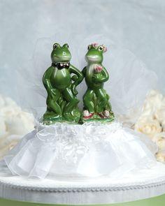 Frog Prince Wedding Cake Topper $34.95