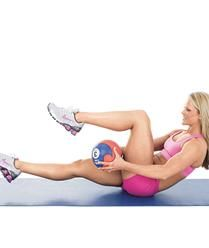Using this weighted exercise will help tone your entire core musculature