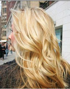 highlighted hair, hair colors, the wave, long hair, blonde highlights, curl, hairstyl, layered hair, hair looks