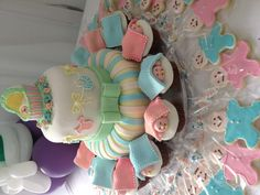 Baby Shower, Cake & Cupcakes - Goldilocks bakery