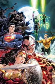 Justice League Rebir