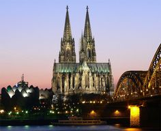 The Cologne Cathedral is a renowned monument of Christianity and Gothic architecture located in Cologne, Germany.