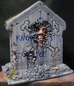 Revenge Tombstone: Tutorial - Blogs - Halloween Forum