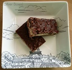 Silver Boxes: Chocolate Marshmallow Bars