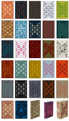 Penguin Clothbound Classics                      i want all of these!!