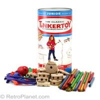 Retro toys are still the best.  Made of wood not plastic.  Stimulates the imagination.