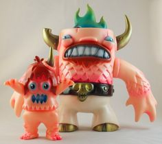 Companion Monsters - Manotaur and Ugly Unicorn