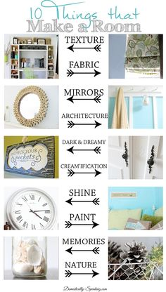 10 Things that Make a Room