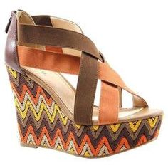 @Overstock - These super chick strappy platform wedges are a burst of color and sass.http://www.overstock.com/Clothing-Shoes/Womens-Diba-Dig-It-Cocoa-Tan-Elastic/7332028/product.html?CID=214117 $48.30 Women Diba, Platform Wedges, Cocoa Tans Elastic, Colors, Diba Dig