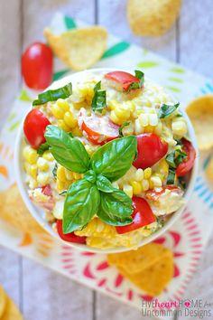 fresh summer corn dip
