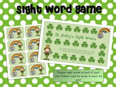 literaci center, literacy centers, math centers, ricca kindergarten, math literacy, kindergarten phonics, st patricks day, march math, sight word games