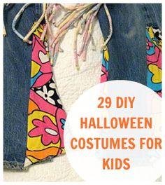 homemade kids halloween costume ideas
