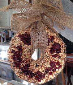 alamodeus: DIY birdseed wreath ...