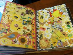 Yellow Smash Book Pages