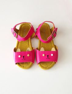 kitty sandals