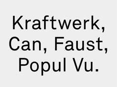 Kant Typeface by Tankboys